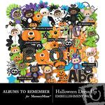 Halloween Dress Up Embellishment Pack-$2.45 (Albums to Remember)