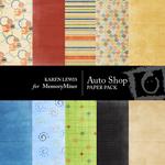 AutoShop Paper Pack-$4.00 (Karen Lewis)
