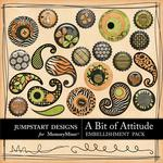 A Bit of Attitude Flair Pack-$1.75 (Jumpstart Designs)