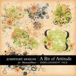 A Bit of Attitude Splatters Pack-$2.49 (Jumpstart Designs)