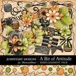A Bit of Attitude Add On Embellishment Pack-$2.10 (Jumpstart Designs)