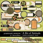 A Bit of Attitude Journal Bits-$1.75 (Jumpstart Designs)