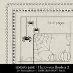 Halloween Borders 2 Square-$1.40 (Lindsay Jane)