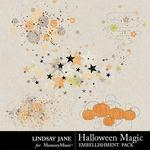 Halloween Magic LJ Scatterz Pack-$1.40 (Lindsay Jane)