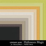 Halloween Magic LJ Embossed Paper Pack-$1.99 (Lindsay Jane)