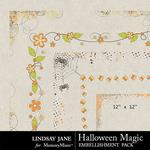 Halloween Magic LJ Edges Pack-$1.40 (Lindsay Jane)
