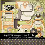 Rocktober Basic Embellishment Pack-$2.45 (Fayette Designs)