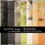 Rocktober Hotmess Solids Paper Pack-$2.99 (Fayette Designs)