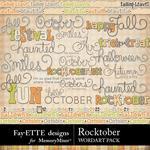 Rocktober WordArt Pack-$2.99 (Fayette Designs)
