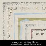 A Boy Thing Edges Pack-$1.40 (Lindsay Jane)