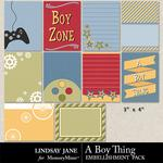 A Boy Thing Journal Cards-$1.99 (Lindsay Jane)