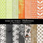 Halloween WAW Paper Pack 2-$3.99 (Word Art World)
