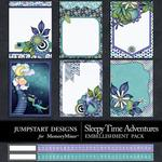 Sleepy Time Adventures Journal Cards-$1.75 (Jumpstart Designs)