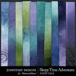 Sleepy Time Adventures Blended Paper Pack-$2.99 (Jumpstart Designs)
