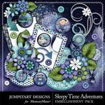 Sleepy Time Adventures Spare Parts Emb Pack-$1.75 (Jumpstart Designs)