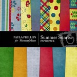 Summer Sunrise Paper Pack-$3.99 (Paula Phillips)