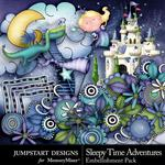 Sleepy Time Adventures Add On Emb Pack-$2.10 (Jumpstart Designs)