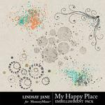 My Happy Place Scatterz Pack-$1.99 (Lindsay Jane)