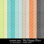 My Happy Place Extra Paper Pack-$1.99 (Lindsay Jane)