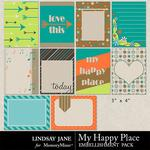 My Happy Place Journal Cards Pack-$1.99 (Lindsay Jane)
