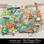 My Happy Place Embellishment Pack-$3.49 (Lindsay Jane)