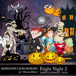 Fright Night 2 Embellishment Pack-$2.49 (Laura Burger)