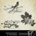 Charming Autumn Brushes Pack-$1.99 (Indigo Designs)