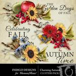 Charming Autumn Clusters Pack-$1.99 (Indigo Designs)