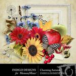 Charming Autumn Embellishment Pack-$2.99 (Indigo Designs)