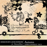 Autumn LB Stamps Pack-$2.49 (Laura Burger)