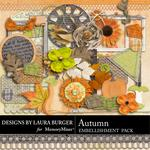 Autumn LB Embellishment Pack-$2.49 (Laura Burger)