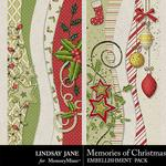 Memories of Christmas Borders Pack-$1.99 (Lindsay Jane)