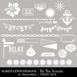 By the Seaside Inkers Pack-$1.99 (Karen Lewis)