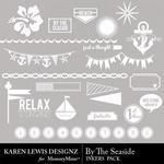 By the Seaside Inkers Pack-$1.99 (Karen Lewis)