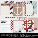 By the Seaside Journal Pack-$1.99 (Karen Lewis)