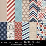 By the Seaside Paper Pack-$3.99 (Karen Lewis)