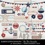 By the Seaside Embellishment Pack-$2.99 (Karen Lewis)