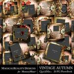 Vintage Autumn QuickMix Book-$9.99 (MagicalReality Designs)