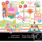 Fairy Tale Dreams Embellishment Pack-$3.49 (Karen Lewis)