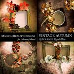 Vintage Autumn QuickPages-$3.49 (MagicalReality Designs)