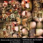 Vintage Autumn Bundle Pack-$4.00 (MagicalReality Designs)