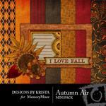 Autumn Air Mini Pack-$3.99 (Designs by Krista)