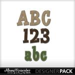Outdoor Play ATR Alphabet Pack-$1.99 (Albums to Remember)