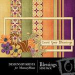 Blessings Mini Pack-$3.99 (Designs by Krista)