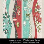 Christmas Frost Borders Pack-$1.99 (Lindsay Jane)