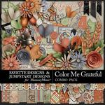 Color Me Grateful FDJSD Combo Pack-$7.99 (Fayette Designs)