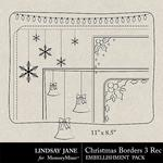 Christmas Borders 3 Landscape-$1.99 (Lindsay Jane)