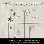 Christmas Borders 3 Square-$1.40 (Lindsay Jane)
