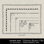 Christmas Borders 1 Landscape-$1.99 (Lindsay Jane)