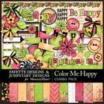 Color Me Happy FDJSD Combo Pack-$4.99 (Fayette Designs)